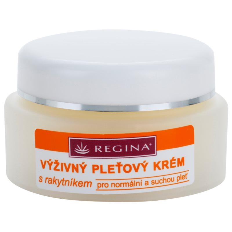 Regina Sea Buckthorn crème nourrissante pour peaux normales et sèches 45 g