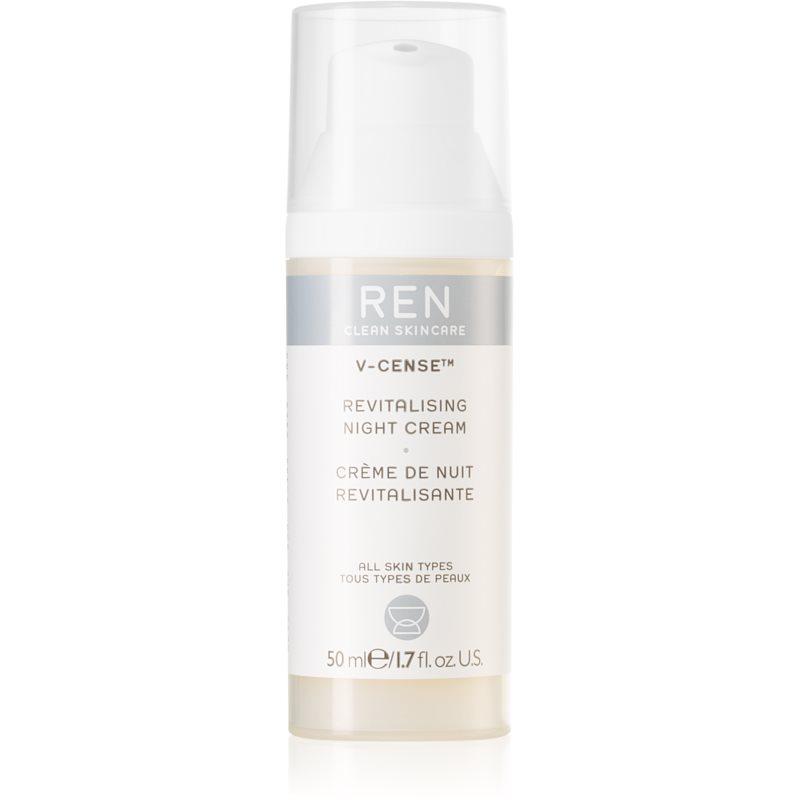 REN V-cense crème de nuit revitalisante pour tous types de peau 50 ml