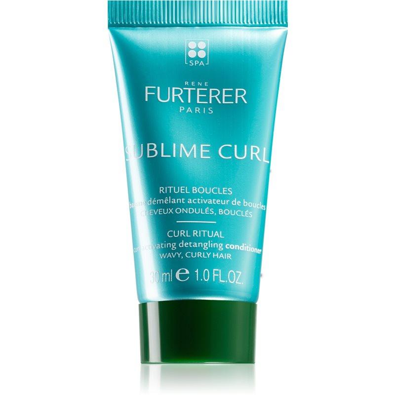 René Furterer Sublime Curl après-shampiong pour avoir des boucles naturels 30 ml