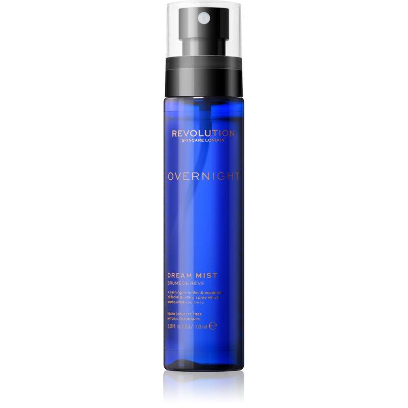 Revolution Skincare Overnight brume apaisante intense aux huiles essentielles 100 ml