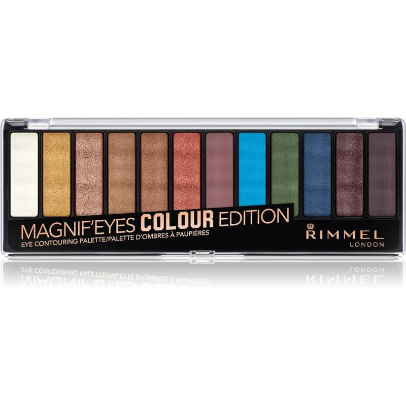 Rimmel Magnif' Eyes palette di ombretti colore 004 Colour Edition 14,16 g