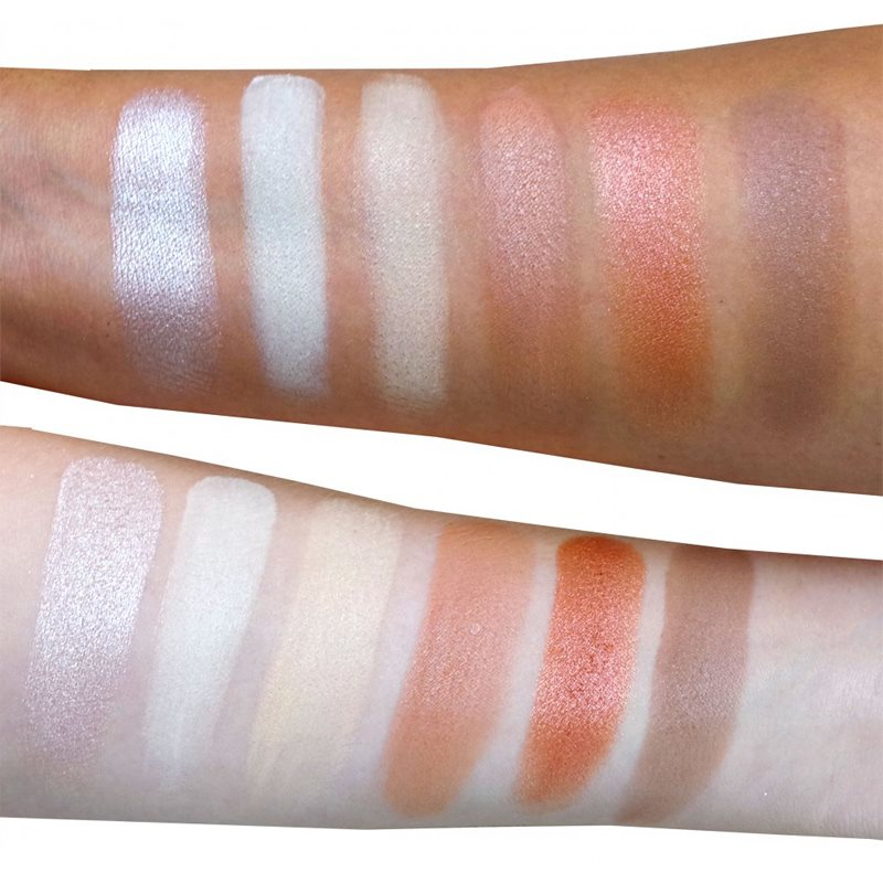Rude Cosmetics Face Palette Audacious paletta arcra 18 g