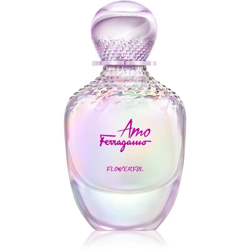 Salvatore Ferragamo Amo Ferragamo Flowerful Eau de Toilette pour femme 100 ml