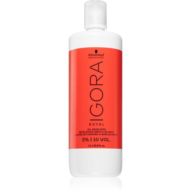 Schwarzkopf Professional IGORA Royal emulsione attivatore 3 % 10 Vol. 1000 ml
