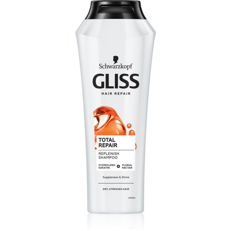 Schwarzkopf Gliss Total Repair shampoo rigenerante intenso 250 ml