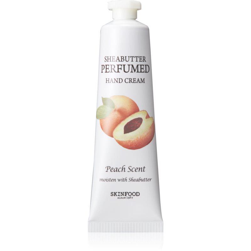 Skinfood Sheabutter Peach Scent crème hydratante mains 30 ml