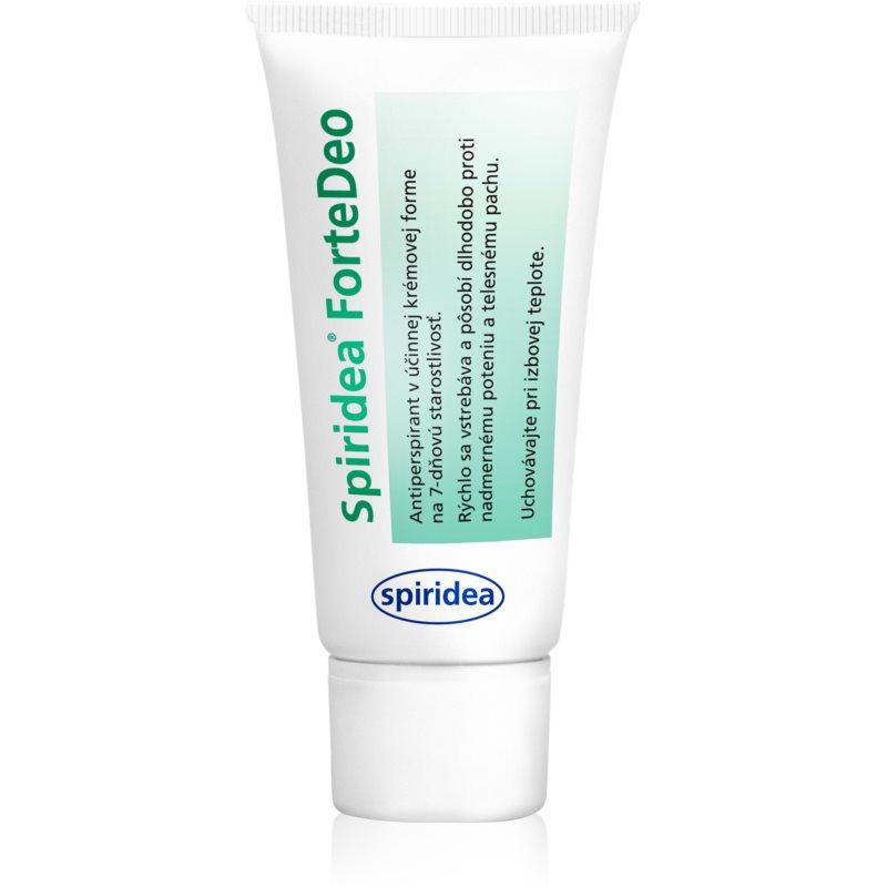 Spiridea ForteDeo anti-transpirant crème pour réduire la transpiration 50 ml