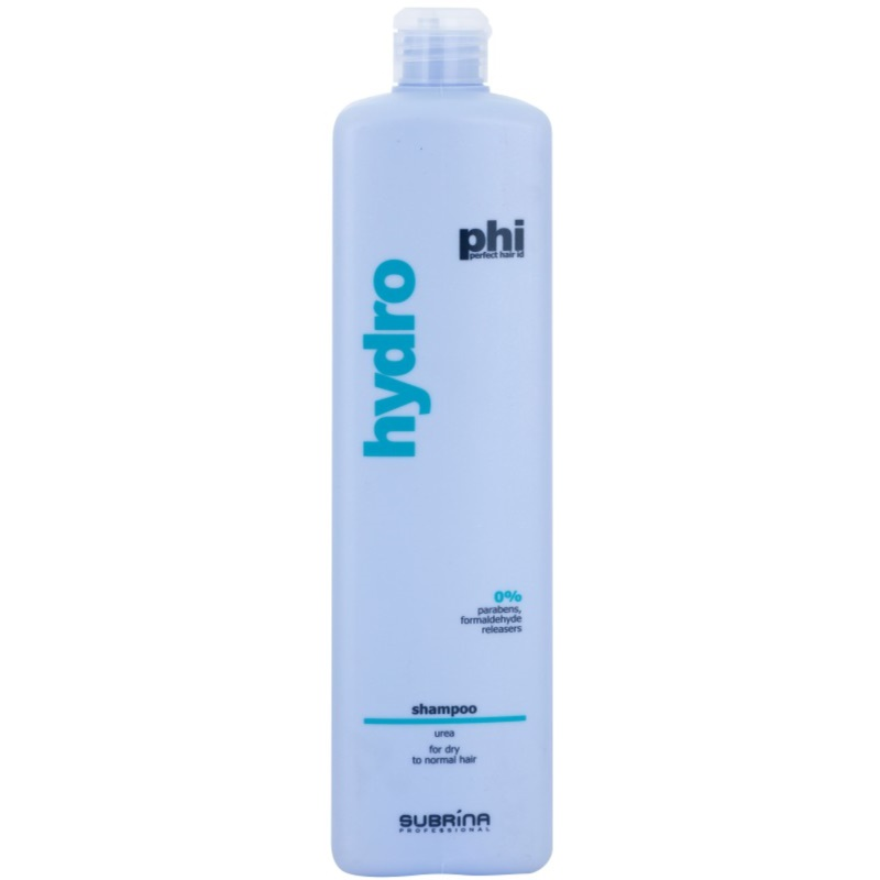 Subrina Professional PHI Hydro shampoing hydratant pour cheveux secs et normaux 1000 ml