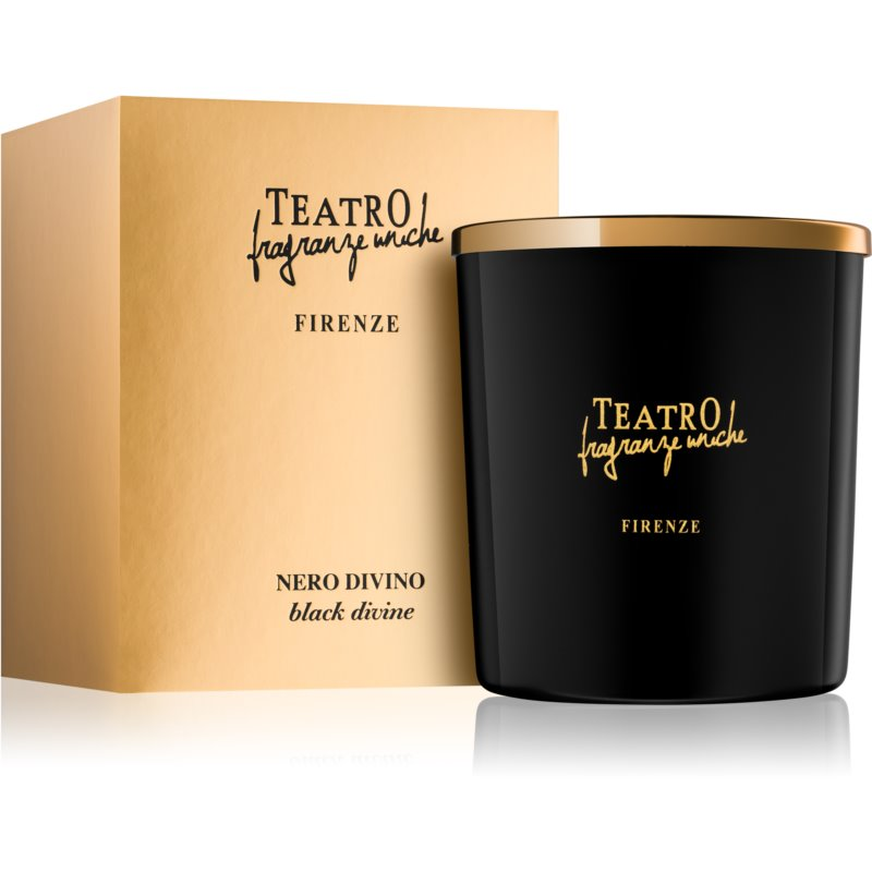 Teatro Fragranze Nero Divino illatos gyertya (Black Divine) 180 g