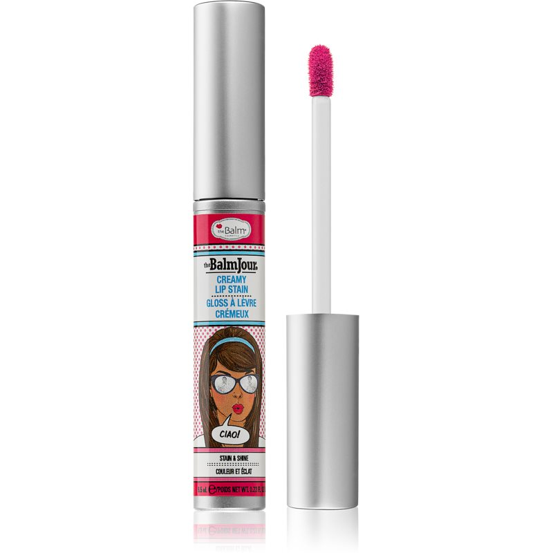 theBalm theBalmJour brillo para labios con alta pigmentación tono Ciao 6.5 ml