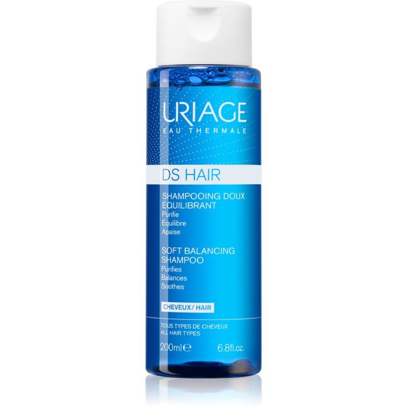 Uriage DS HAIR Soft Balancing Shampoo shampoing purifiant pour cuir chevelu sensible 200 ml