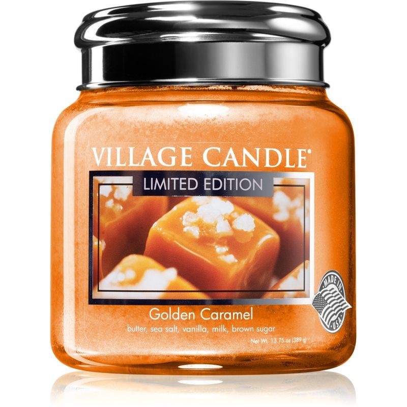 Village Candle Golden Caramel candela profumata 390 g