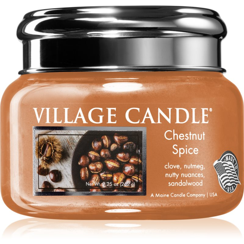 Village Candle Chestnut Spice bougie parfumée 262 g