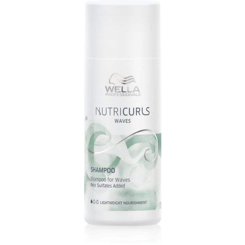 Wella Professionals Nutricurls Waves shampoing hydratant pour cheveux bouclés 50 ml