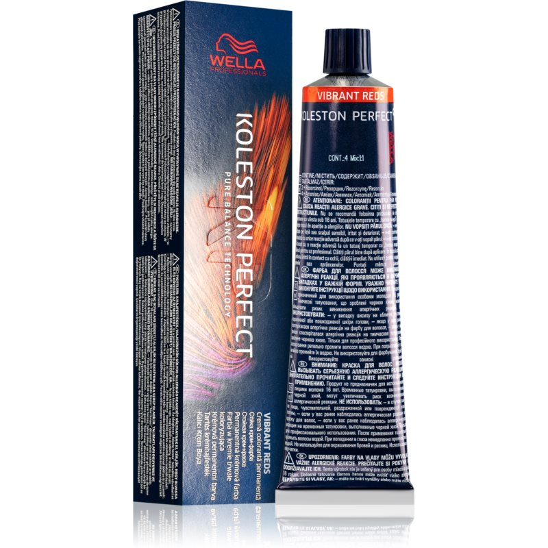 Wella Professionals Koleston Perfect ME+ Vibrant Reds coloration cheveux permanente teinte 5/5 60 ml