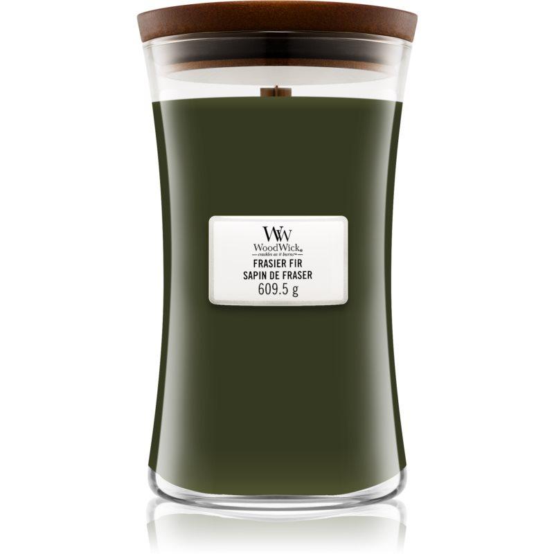 Woodwick Frasier Fir vela perfumada 609.5 g