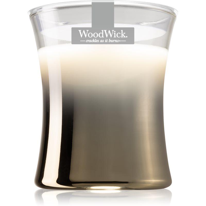 Woodwick Smoked Jasmine candela profumata con stoppino in legno 275 g