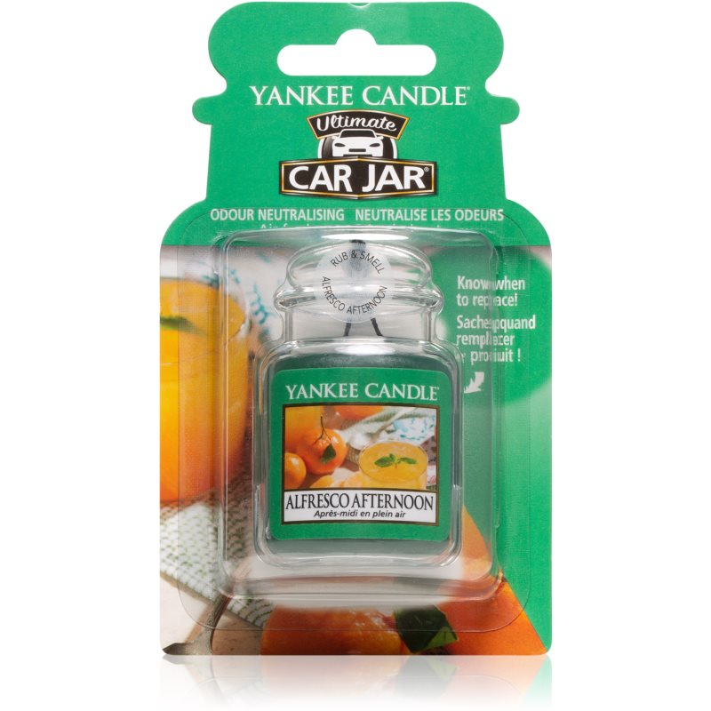 Yankee Candle Alfresco Afternoon d�sodorisant voiture � suspendre