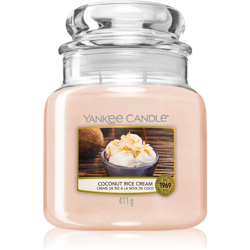 Yankee Candle Coconut Rice Cream illatos gyertya 411 g