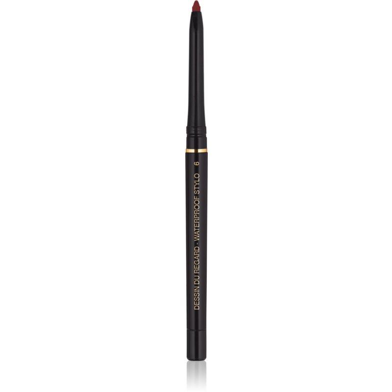 Yves Saint Laurent Dessin du Regard Stylo Waterproof crayon yeux waterproof teinte 6 Bordeaux Clinquant 0,35 g