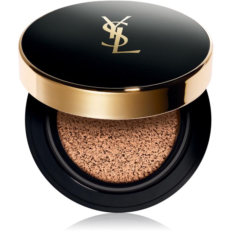 Yves Saint Laurent Encre de Peau Le Cushion dlouhotrvající make-up v houbičce SPF 23 odstín B30 Beige 14 g