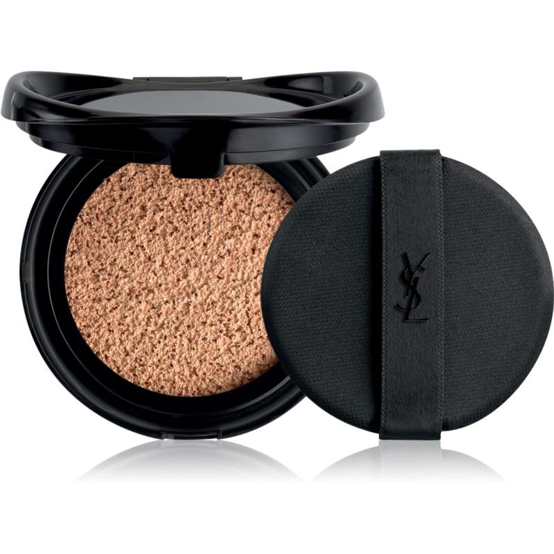 Yves Saint Laurent Encre de Peau Le Cushion dlouhotrvající make-up v houbičce SPF 23 náhradní náplň odstín B30 Beige 14 g
