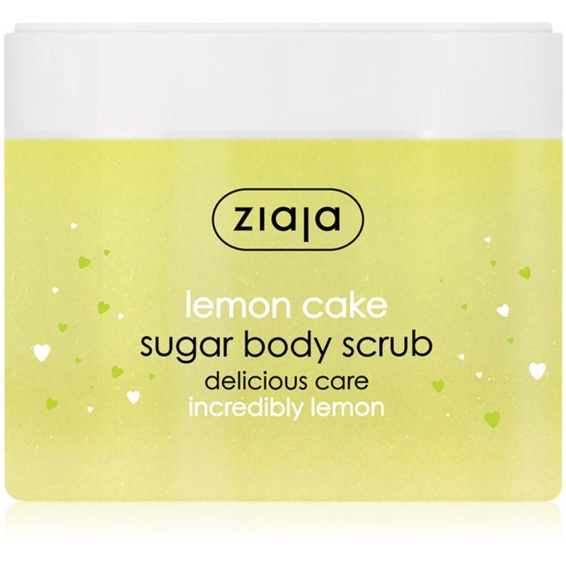 Ziaja Lemon Cake zjemňující cukrový peeling 300 ml