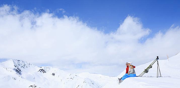 Abbronzarsi in montagna