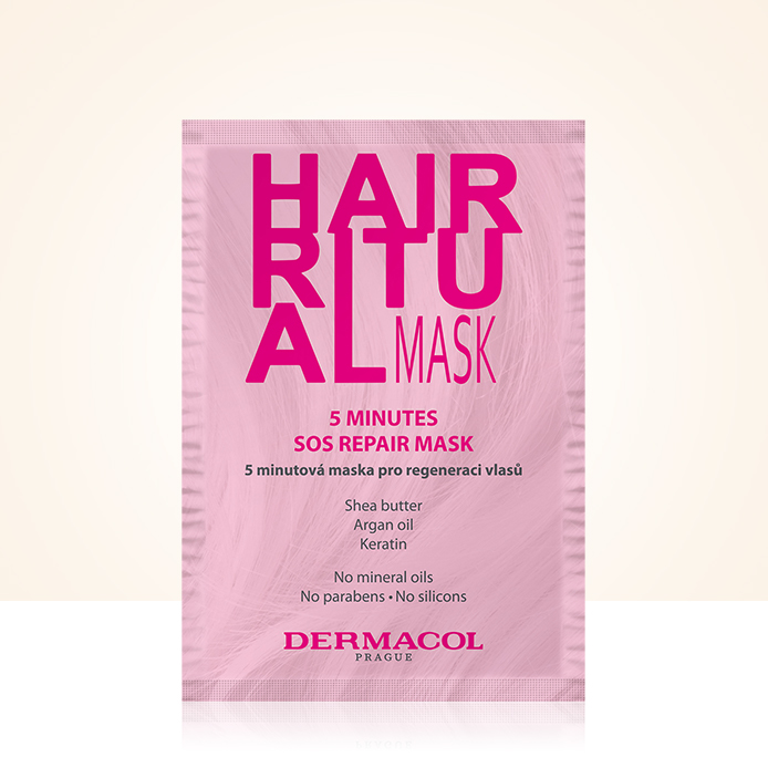 Maschera per capelli Dermacol GRATIS