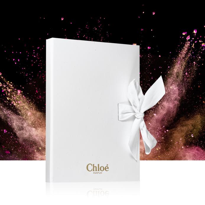 Zwei Chloé Notizbücher geschenkt