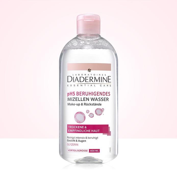 Micelárna voda Diadermine 400 ml ZADARMO