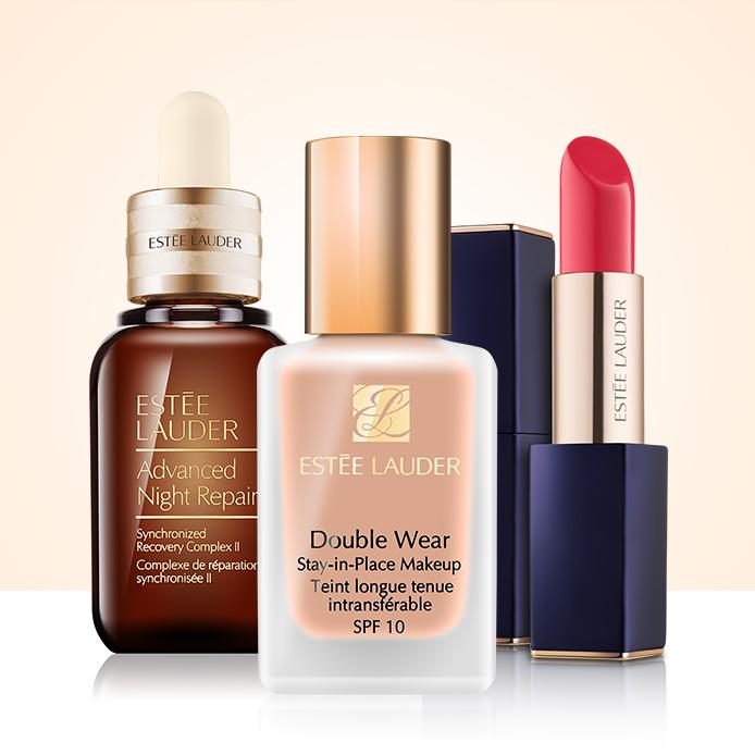-15 % nos cosméticos da Estée Lauder