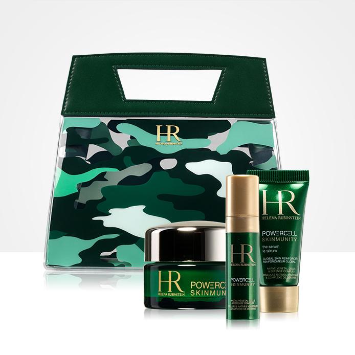 Luxus neszesszer mini Helena Rubinstein termékekkel