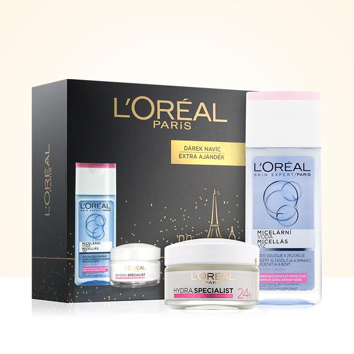 L'Oréal Paris s popustom 25 % in darilom
