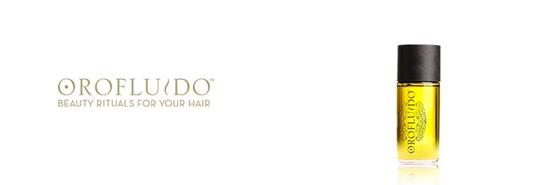 Olio per i capelli della marca Orofluido in omaggio