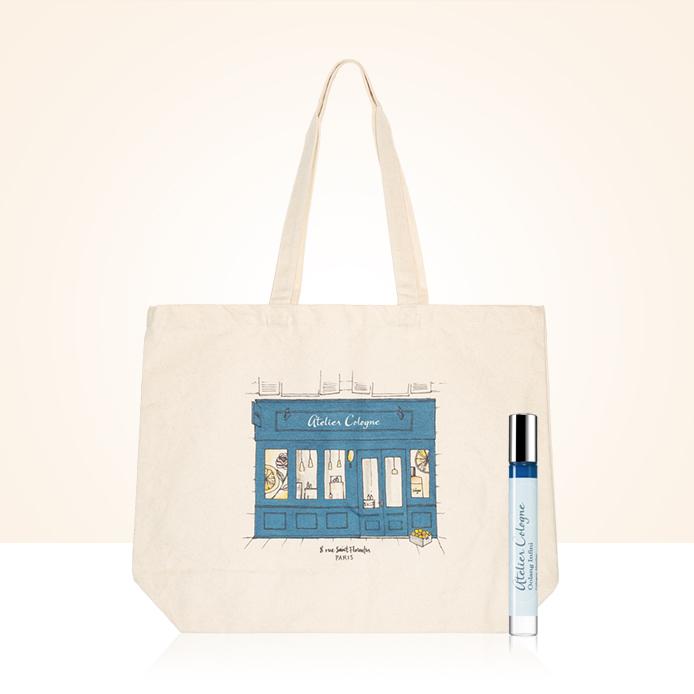 Atelier Cologne mini-parfym och en gåva utöver det