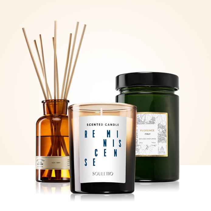 20% reducere la parfumurile pentru casă