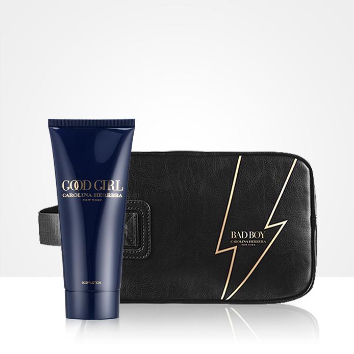 Férfi kozmetikai táska vagy Good Girl testápoló INGYEN