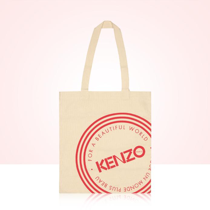 Canvas tas Kenzo als cadeau