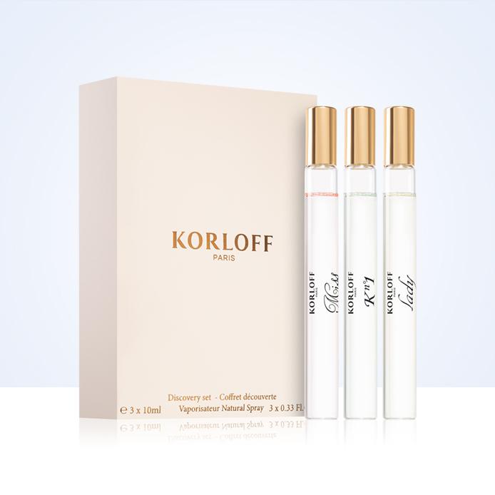 GRATIS Discovery set Korloff