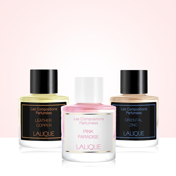 INGYENES Lalique luxus mini parfüm