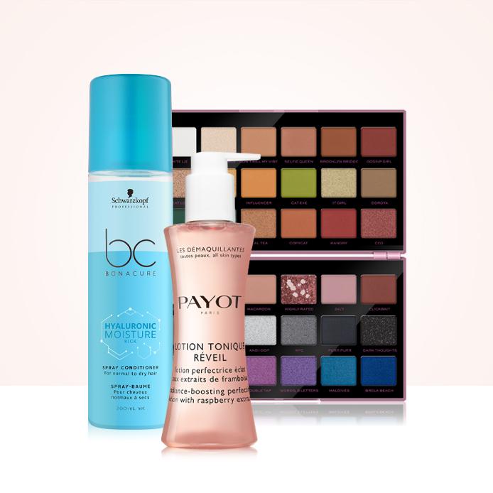 10 % Rabatt auf Ihre Bestellung von mindestens drei Beautyprodukten
