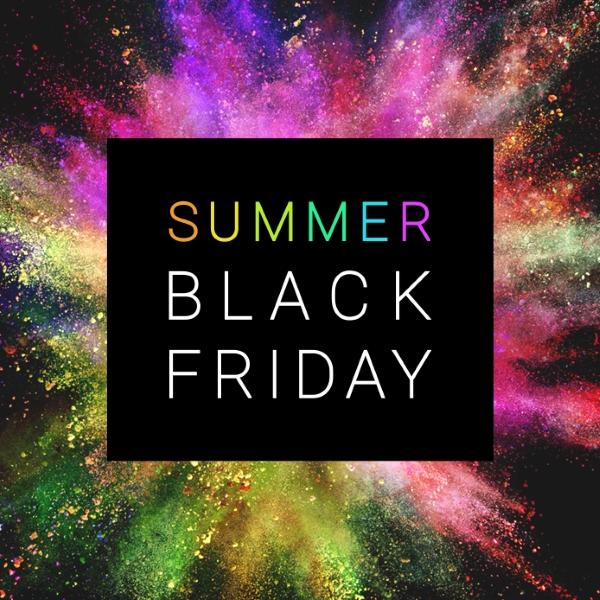 20% korting op Summer Black Friday!