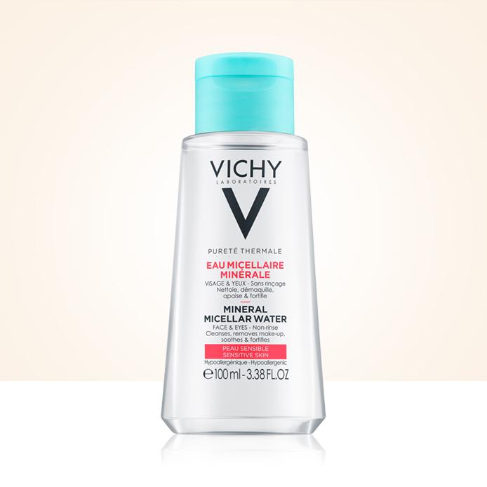 Apă micelară Vichy la 100 ml CADOU