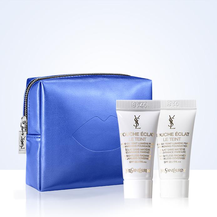 Yves Saint Laurent kozmetikai táska és alapozó INGYEN