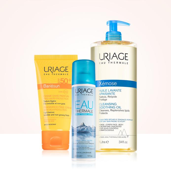 20% reducere la produsele Uriage