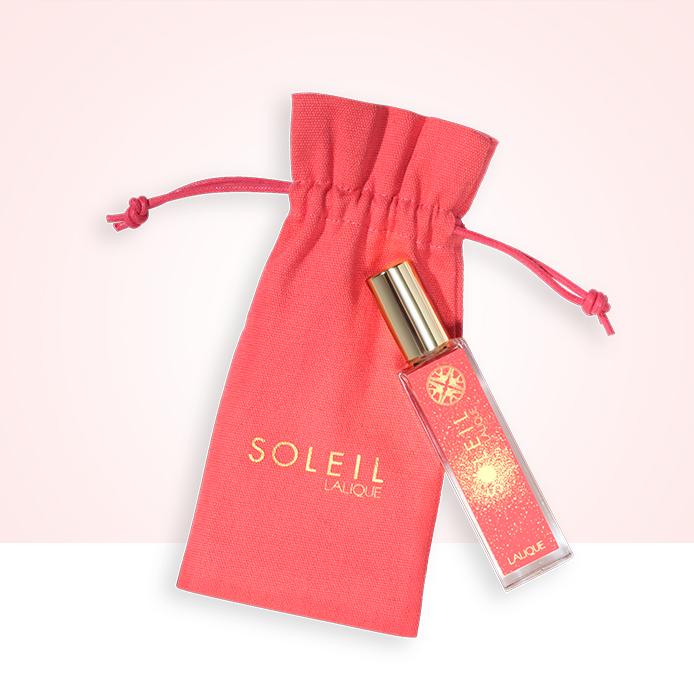 INGYENES utazó spray Lalique Soleil illattal