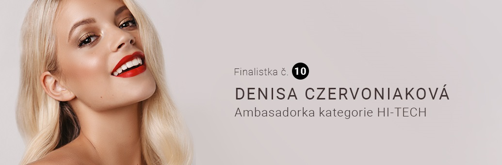 Miss Notino Denisa Czervoniaková