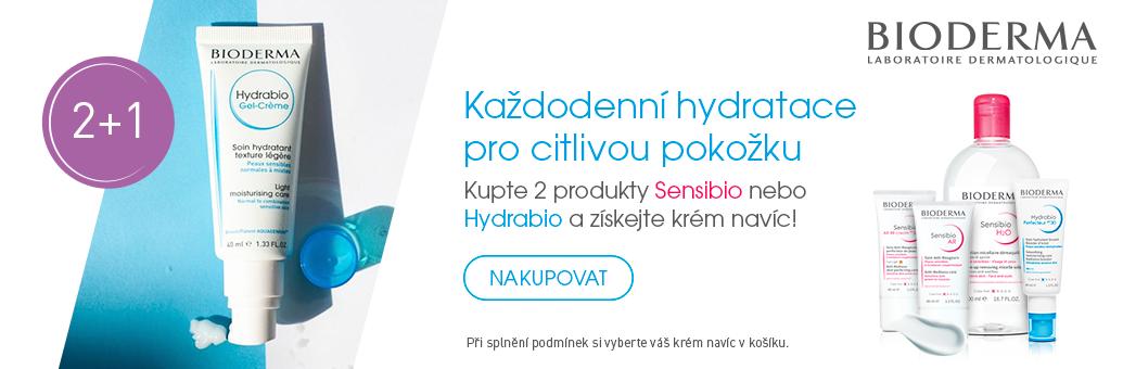 Bioderma Sensibio/Hydrabio 2+1 GWP