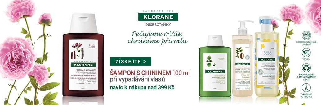 Klorane W16 GWP Chinin šampon 100 ml